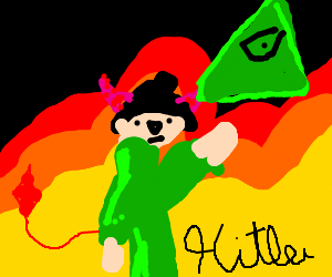 Hitler Devil Literally Illuminati