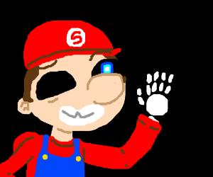 Sans/Mario face swap
