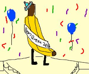 Banana is prom queen 2016