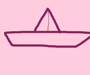 Pink battleship