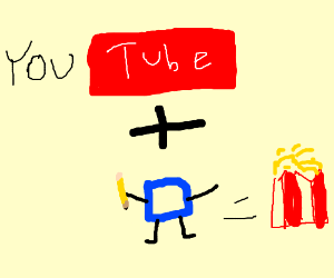 youtube plus drawception equals popcorn