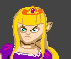 Angry Zelda