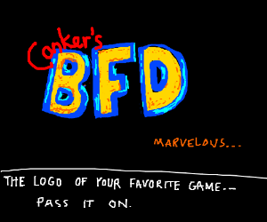 Draw the logo of your favorite game PIO