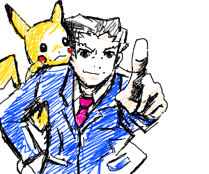 Phoenix Wright becomes a Pokemon trainer