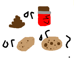 Is it poop, chocolate, a potato, or a cookie?