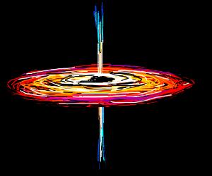 beautiful black hole