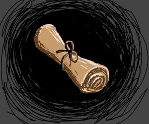 An ancient scroll