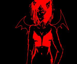 Sexy Demon Lady.