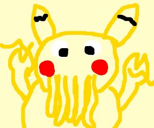 Pikaberg (Pikachu + Zoidberg)