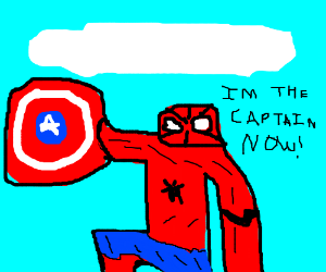Spiderman is the new Captain America
