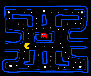 Insanely detailed Pacman