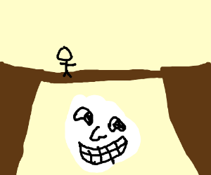 Troll Face Under The Bridge