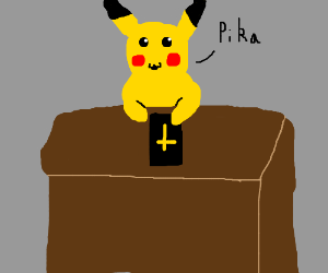 Pikachu testifies under oath