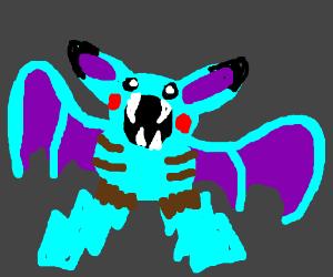 Weird Bat-Pikachu hybrid
