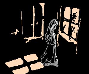 Depressed Lady-ghost