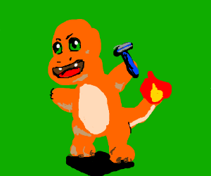 Charmander, use razor leaf!