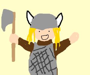 A Happy Viking