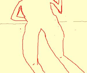 demon girls showing the butt butt