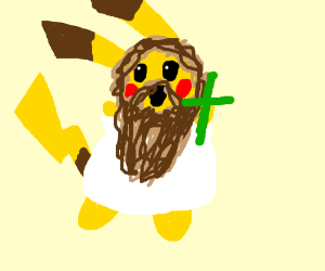 Pikachu is Jesus