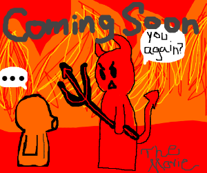 South Park movie, when Kenny meets Satan in hell