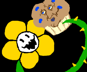 TroubleHandsome SquidMuffin eaten by Flowey