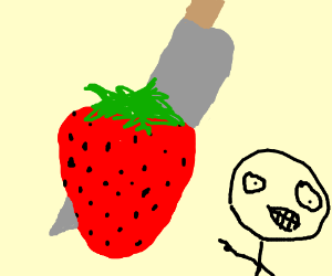This was a BERRY gruesome murder!