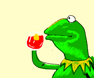 Kermit thinks that it's none of his business