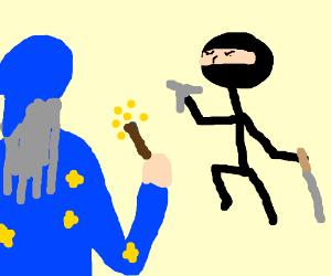 wizard vs ninj