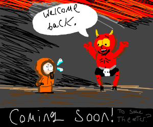 Kenny (south park) visits hell again The Movie