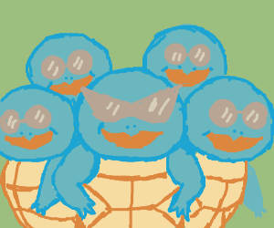 Squirtle Squad!