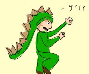 I am a stegosaurus!
