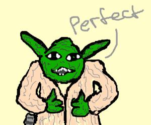 "Yoda says, ""Perfect"""