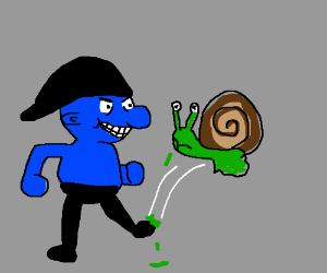 If Smurfs were pure Evil