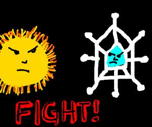 Snowflake vs the Sun