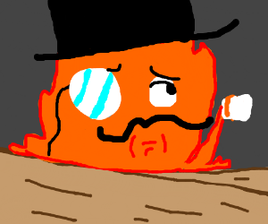 Calcifer drinks tea like a sir