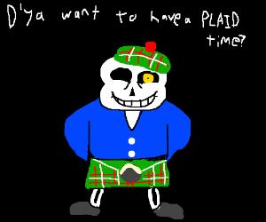 Scottish sans