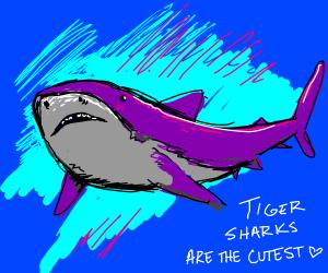 More sharks! Make 'em cute and sharky!