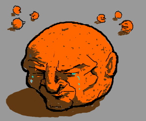 A Lonely Orange