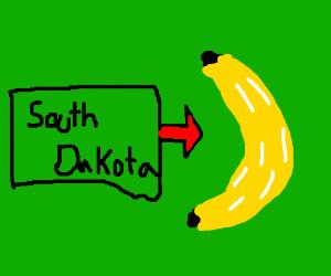Banana Replaces South Dakota