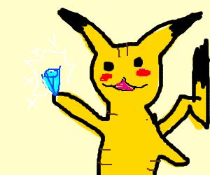 picachu got a magic gem