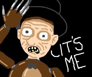 Freddy Fazbear is Freddy  Krueger!
