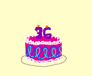 A Sad Woman S 36th Birthday Drawception