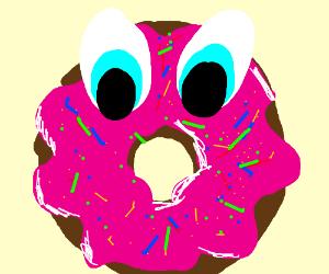 Big eyed doughnut
