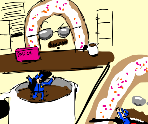 Donut Cop on the case