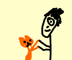 Garfield Dancing With His Owner Jon Arbuckle Drawception