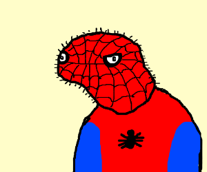 That derpy spiderman