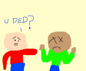 2 dudes: -R u dead? -I don't think so!