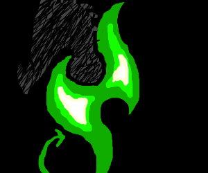 Wyvern of the Emerald Flames