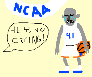 there's no crying in the undead NCAA tourny!