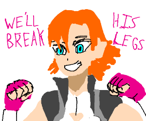 Nora Valkyrie, Breaker of Legs.